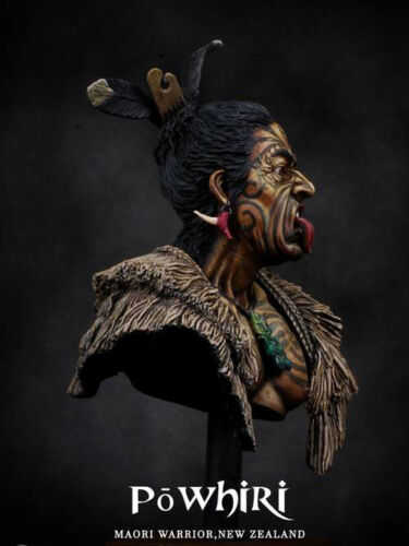 ██ Resin 1//10 Maori Warrior Provoking Naughty Figure Bust Unpainted Unassembled