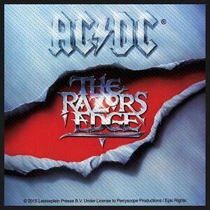 AC-DC-ACDC-Patch-Aufnaeher-The-Razors-Edge-10x10cm