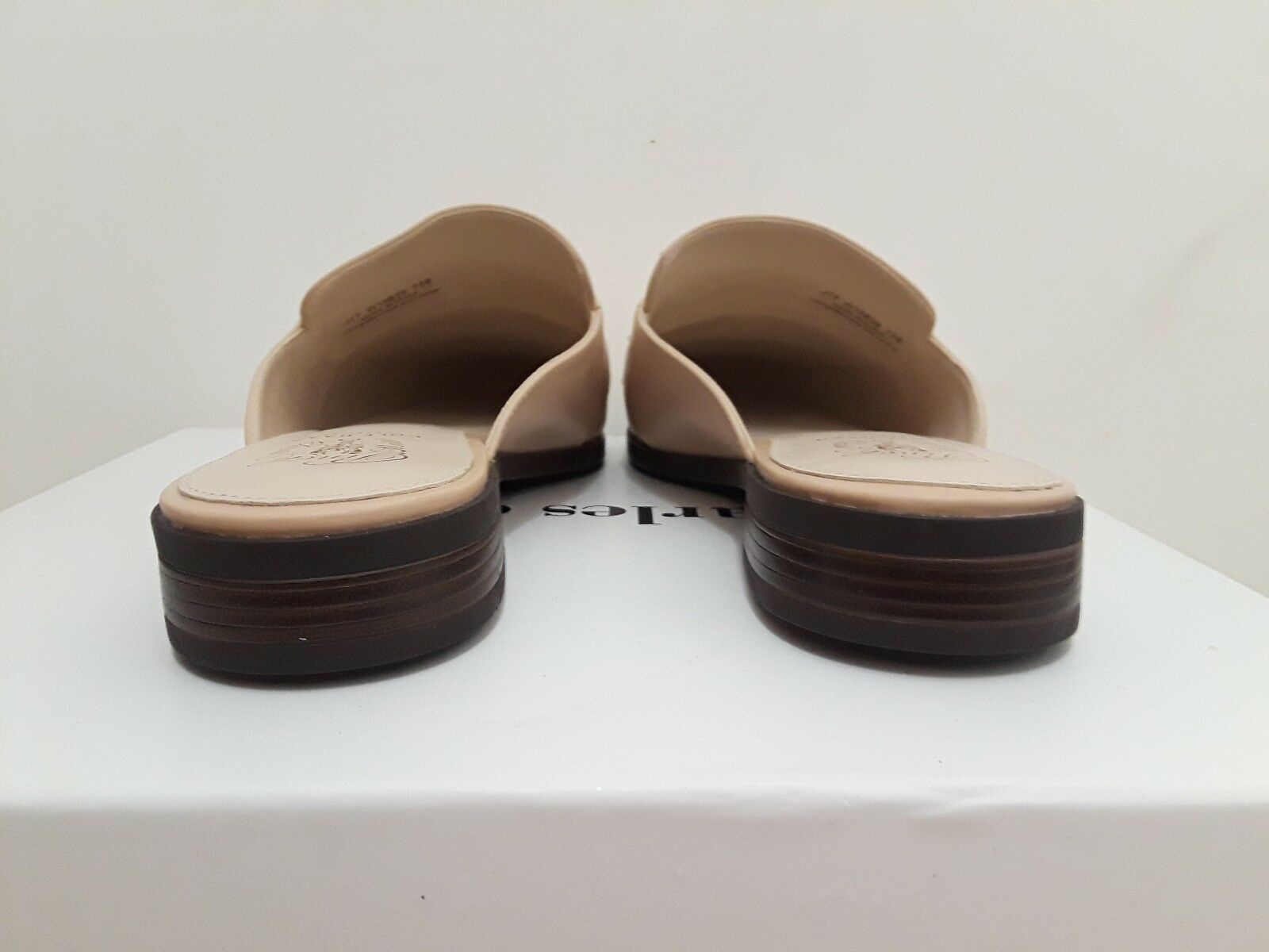 Cole Haan Haan Haan para mujer pellizco flecos diapositiva Mocasín-desnuda W10839 Tamaño  7.5 e89164
