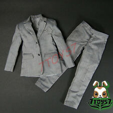 Wild Toys 1/6 WT024 Agent James Grey Suit_ Blazer + Pants _007 UK MI6 ACI WT028B