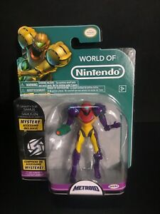 2015 JAKKS Pacific World of Nintendo: Metroid Samus Gravity Suit w/ Mystery Item