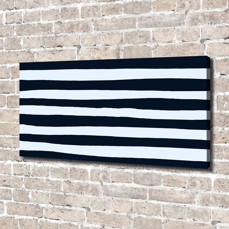 Leinwandbild Kunst-Druck 140x70 Bilder Sonstige Streifen