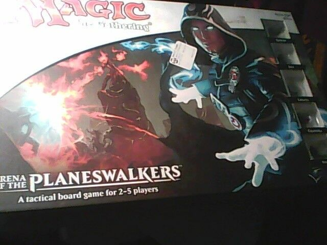 Magic The Gathering Planeswalkers Board Game Hasbro New in Box