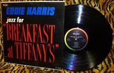 Eddie Harris Jazz For Breakfast At Tiffany's LP Vee Jay LP 3027 Colorband DG