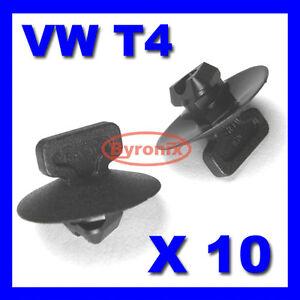 10 Vauxhall Bonnet Hood Isolation trim panel trim Plastic Fasteners