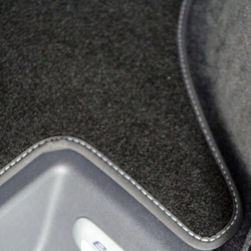 Premium velours tapis de sol pour vw t5 Caravelle avec 2 sièges individuels à partir de Bj 2003 sw