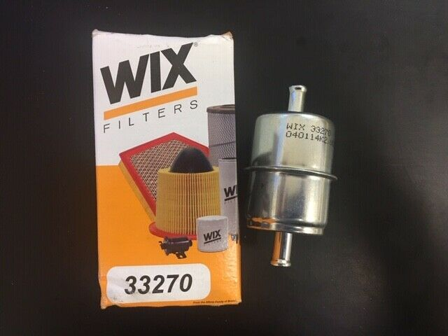 Filter Complete In-Line WIX Filters 33270 Heavy Duty Fuel Pack of 1