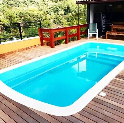 Fiberglass Inground Swimming Pool Shell Praia 7 7 2 X 13 1 X 4 3