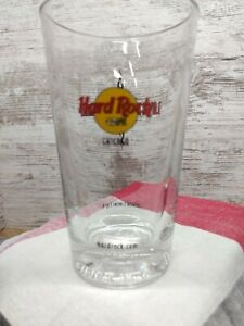 Hard-Rock-Cafe-Pint-Beer-Glass-Budweiser-Chicago-Collector-039-s-Series-1-of-4