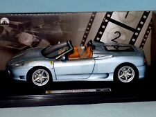 Hot Wheels Elite Ferrari 360 Spider The Italian Job 1 18th Scale Le