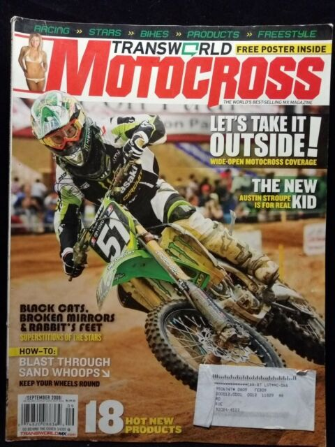 Transworld Motocross MX Motorcycle Dirt Bike Magazine ...