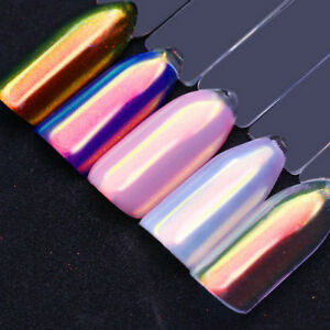 Chrome-Powder-Pretty-Nail-Art-Chrome-Shining-Pigment-Mermaid-Powder