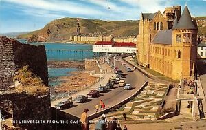 B89070-the-university-from-the-castle-aberystwyth-wales-14x9cm