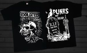 THE-EXPLOITED-Punks-Not-Dead-Scottish-punk-rock-band-T-shirt-SIZES-S-to-6XL