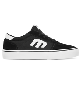 Etnies Kids Calli-Vulc Black Youth Skateboard Shoes