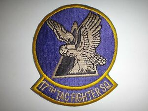 Desert Storm (1990-1991) US Army 17th TACTICAL FIGHTER SQUADRON Patch