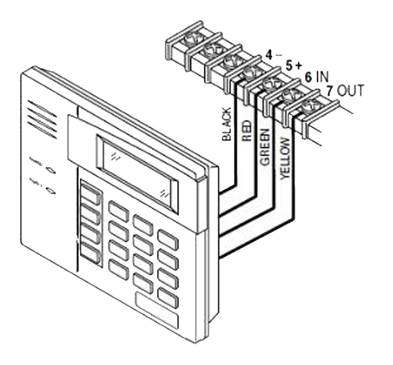 honeywell security 6160 ademco alpha display keypad ebay ADT Alarm Logo