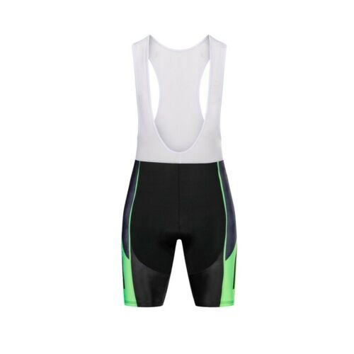 Summer Black And Green Men Cycling Jersey Set Black Green Cycling Jersey For Men