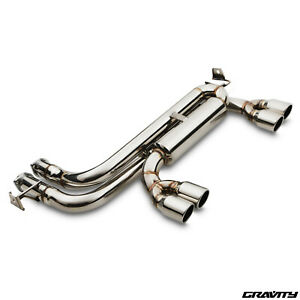 STAINLESS-EXHAUST-SYSTEM-REAR-SILENCER-BACK-BOX-FOR-BMW-3-SERIES-E46-M3-3-2-00-gt