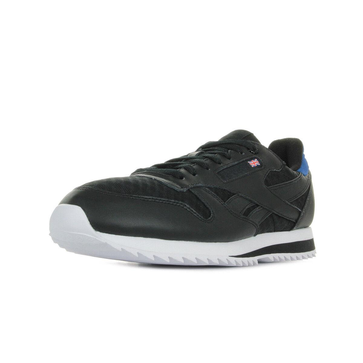 Schuhe Schuhe Schuhe Reebok Herren Classic leather schwarz 309deb