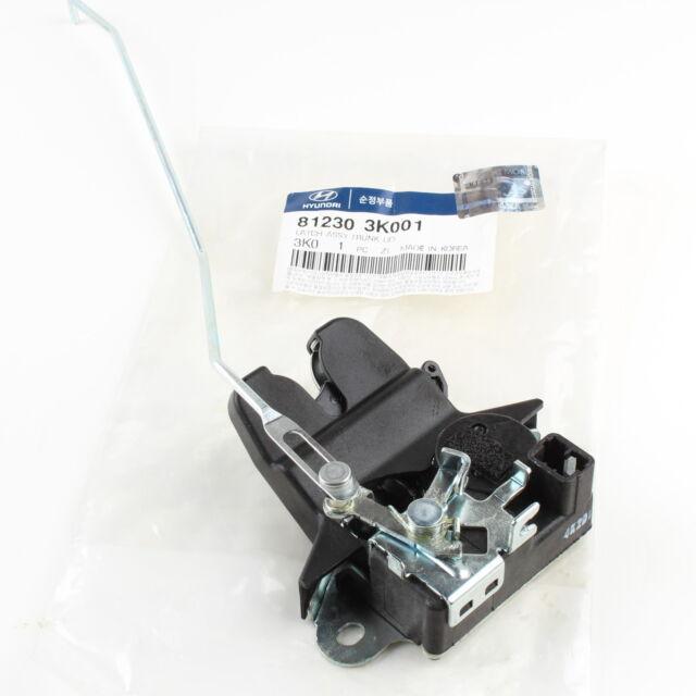 Genuine Trunk Lid Latch 812303K001 For Hyudai NF Sonata 2006 2007 2008