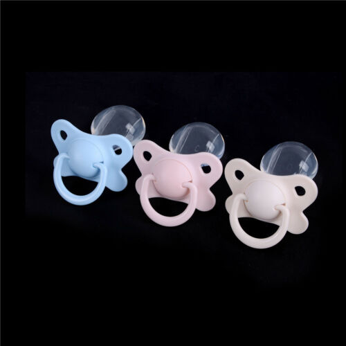 Newest Nibbler Pacifier Toy Feeding Nipples Adult Sized Design Back Cover FDUS