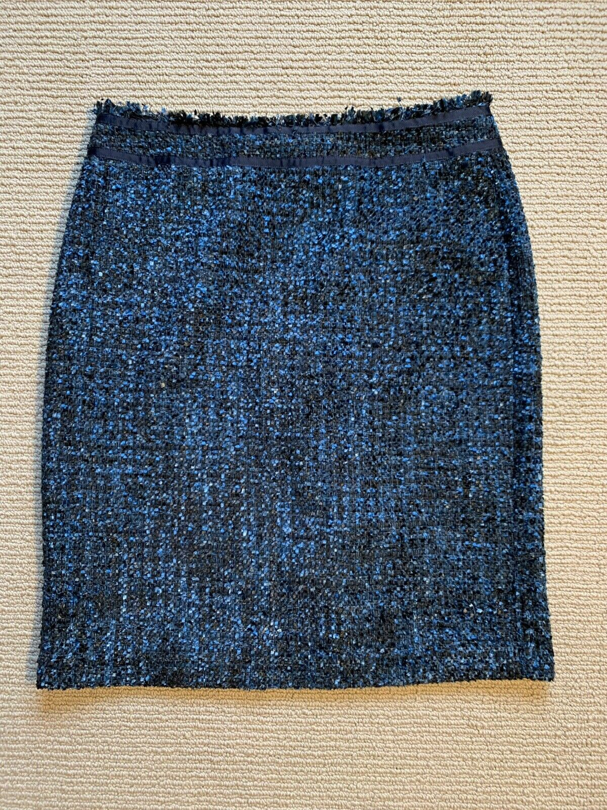 JMcLaughlin Womens Skirt Navy Size 8