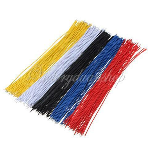 "50PCS 20cm/7.8"" male to male Breadboard Wire Color Jumper Cable For Arduino NEW"