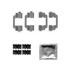 Genuine Delphi Front Brake Pad Accessory Kit - LX0580