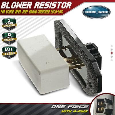 HVAC Blower Motor Fan Resistor For Dodge Jeep Grand Cherokee 2000-2004 5014212AA