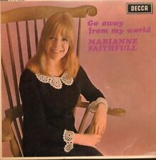 "Marianne Faithfull(7"" Vinyl P/S)Go Away From My World EP-Decca-DFE 8624-VG/VG"