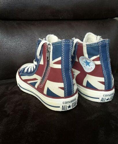 Converse Chucks Schuhe England 5 Gr Star 36 Neu All Flag rqUZprn