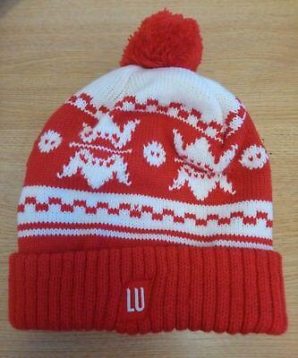 Responsabile Cappello Da Donna Cappello Rosso Invernale < J8854-mostra Il Titolo Originale Giada Bianca