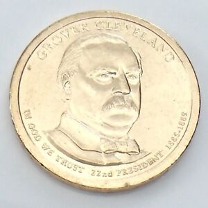 First Term 2012-D Grover Cleveland Presidential Dollar Roll