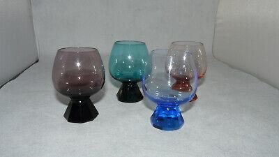 // Farben zur Wahl x 4,5 cm Kelch Friedrich Kristall Schnapsglas 6,5 cm h