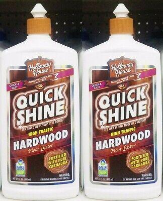 2 Holloway House Quick Shine High Traffic Hardwood Floor Luster 27