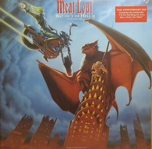 Meat-Loaf-Bat-Out-of-Hell-II-New-25th-Anniversary-Vinyl-2LP