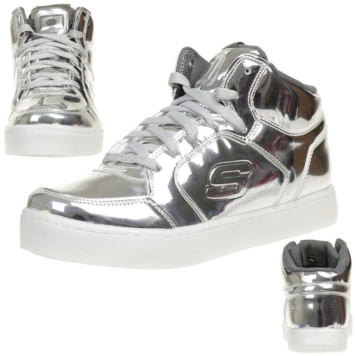Skechers s Lights  energy LED Lights LED energy zapatillas zapatos para niños blinkzapatos Sil 4907bf