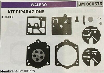 MEMBRANA//KIT RIPARAZIONE WALBRO BM006622