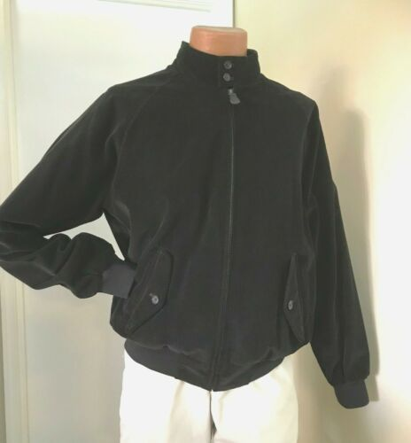 Brooks Brothers Brown Corduroy  Bomber Jacket Size