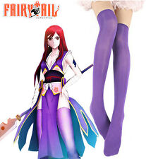 Fairy Tail Titania Erza Scarlet Forever Empress Armor Stockings Cosplay Accessor