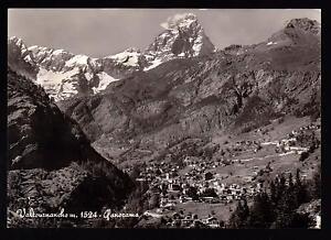VALTOURNANCHE-AOSTA-CARTOLINA-PANORAMA-FG-VG-1964-OMNIAFOTO