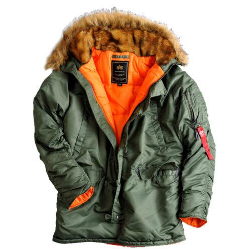 Alpha Industries Femmes Hiver Manteau parka veste hiver 113007 n3b vf 59 wmn NEUF