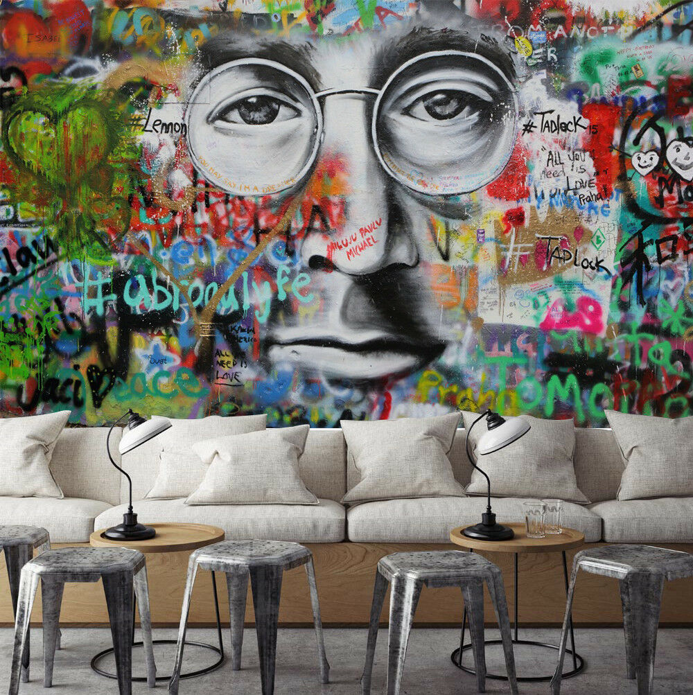 3D Glasses Male Doodle 7 Wall Paper Murals Wall Print Wall Wallpaper Mural AU