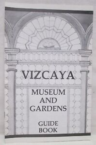 Vintage-Vizcaya-Museum-Gardens-Guide-Book-Tour-Miami-Florida-Booklet