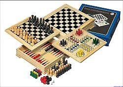 Philos 3104 Reise Holz-Spielesammlung