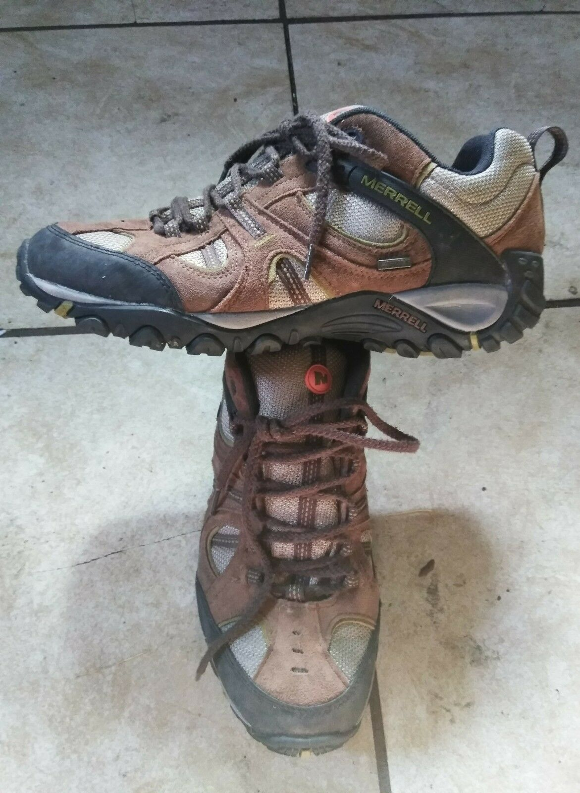 hommes merrell hiking chaussures 11