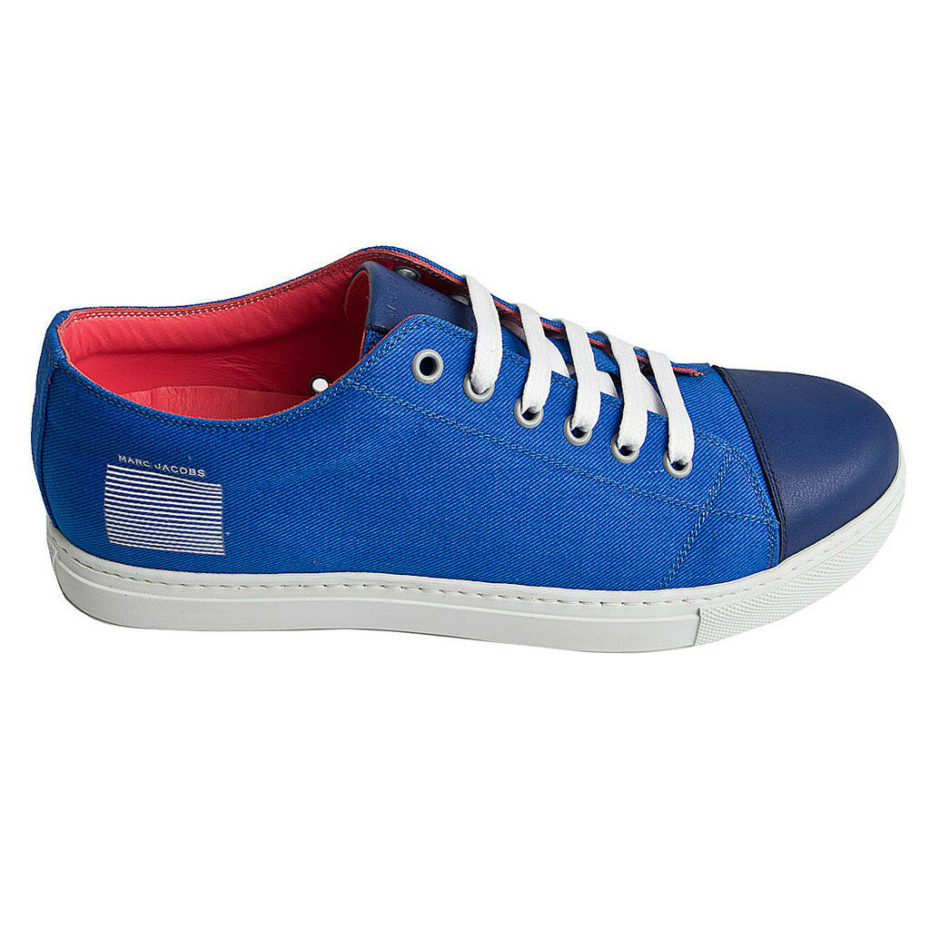 Marc leather Jacobs canvas sneakers, canvas leather Marc sneakers 045088