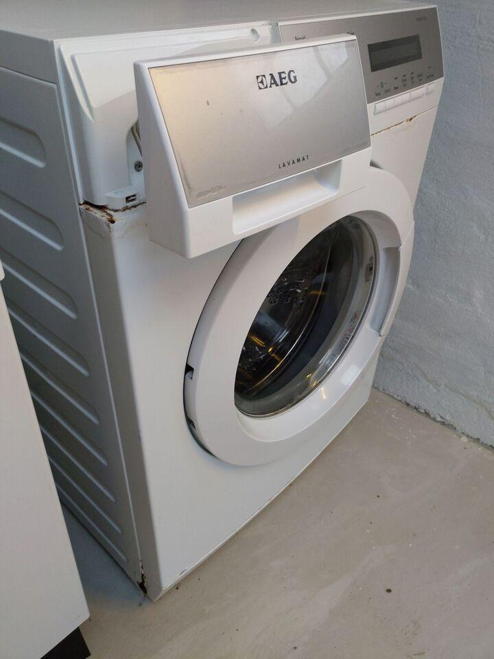 AEG vaskemaskine, L76670FL, frontbetjent