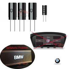4 CONDENSATEUR REPARATION MODULE BOITIER CCC GPS BMW SERIE 5 E60 E61 BLOQUE LOGO